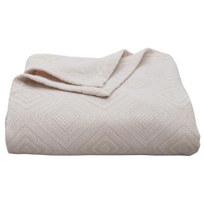 Palm Desert Bed Blanket Natural - Tommy Bahama