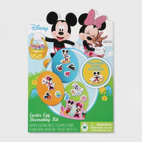 60 Pieces Mickey /& Minnie Foam Stickers