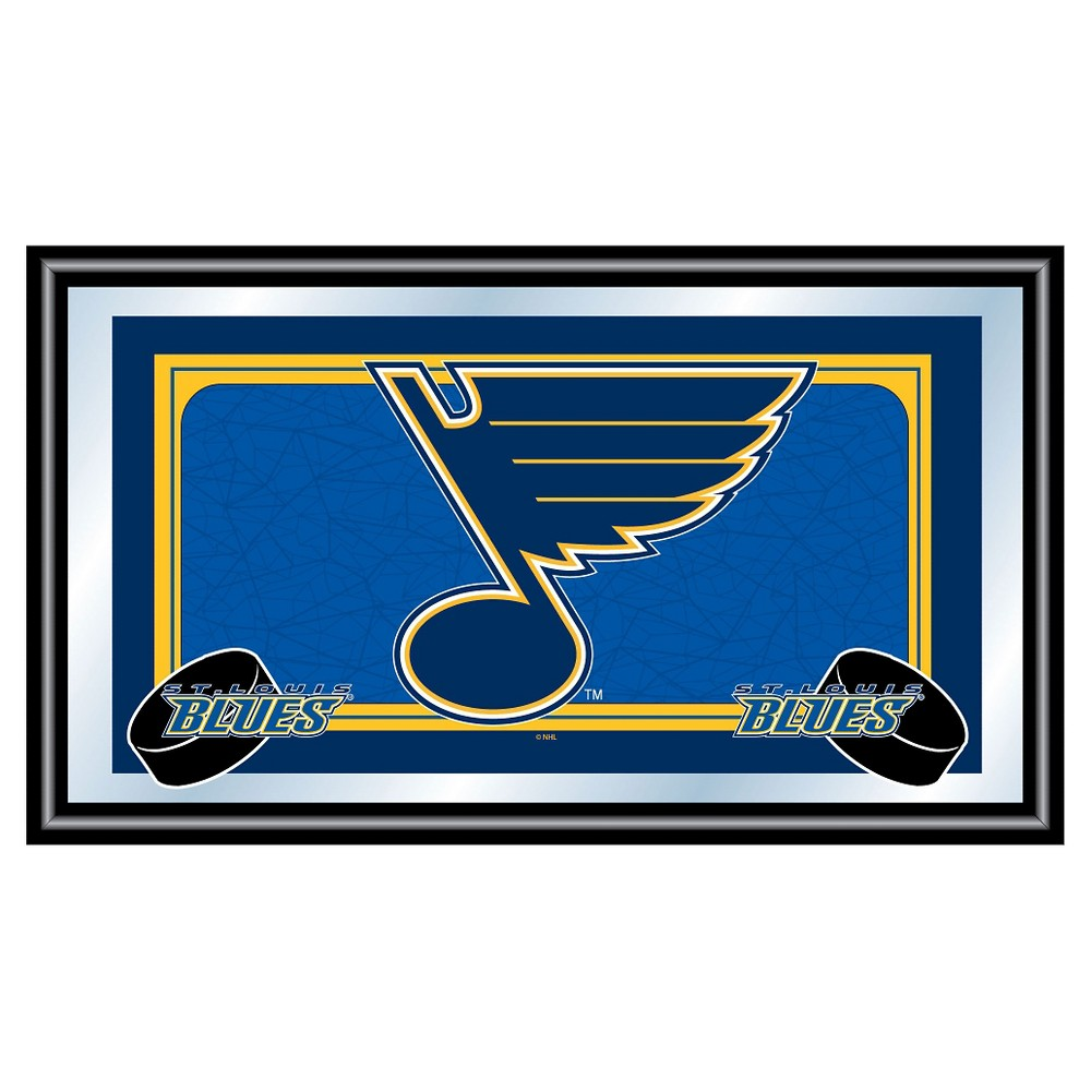 St. Louis Blues Team Logo Wall Mirror