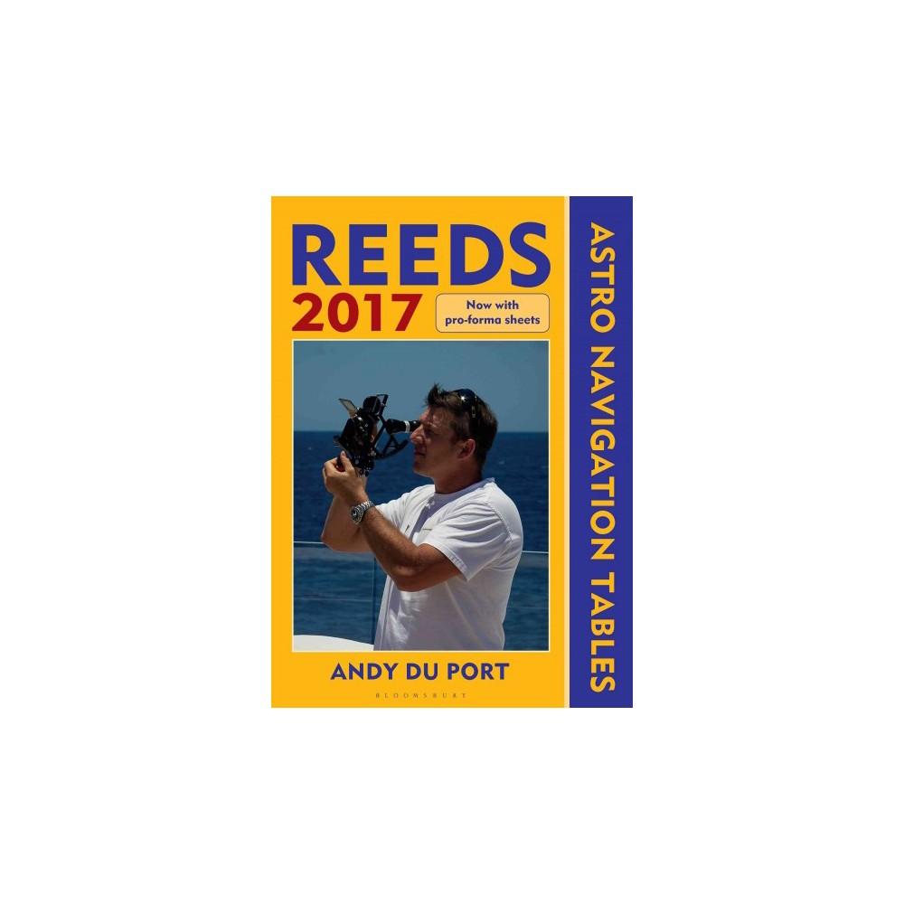 Reeds Astro-Navigation Tables 2017 (Paperback) (Andy Du Port)