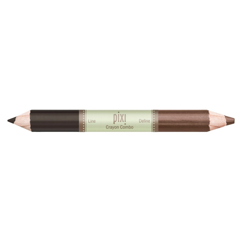 Pixi By Petra Crayon Combo Eyeshadow Pencil Softly Smoky - 0.1oz