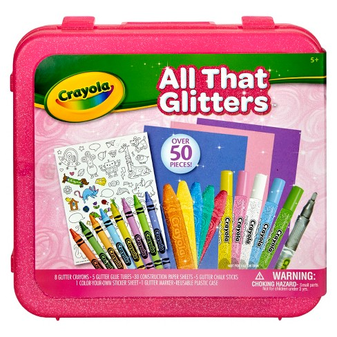 Crayola All That Glitters Coloring Kit 51pc