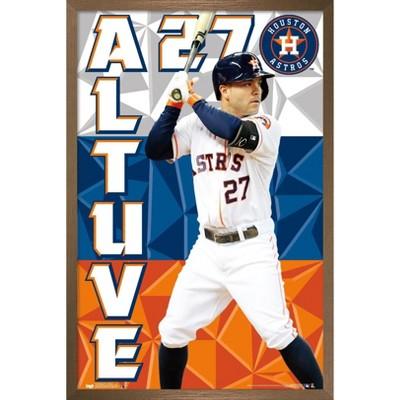 Trends International MLB Houston Astros - Jose Altuve 15 Framed Wall Poster Prints