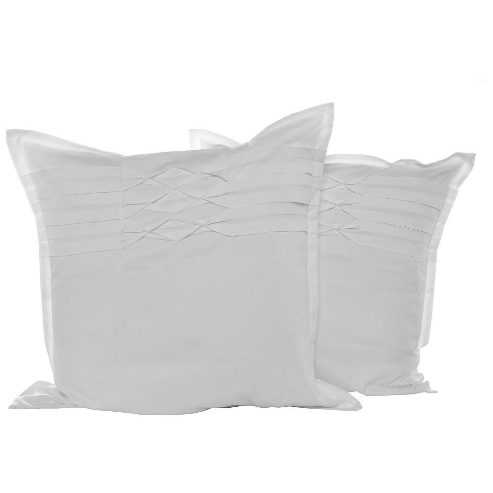 Image of White Pillow Sham (Euro) - City Scene