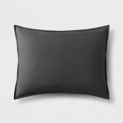 Dark Gray Solid Sham (Standard)- Made By Design™