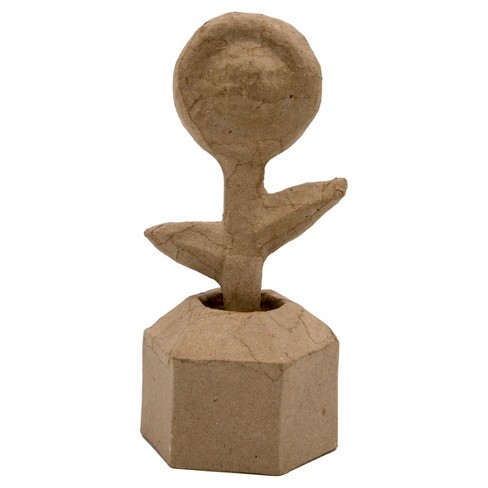 Kid Made Modern® Flower in a Pot Figurine - Kraft - image 1 of 4
