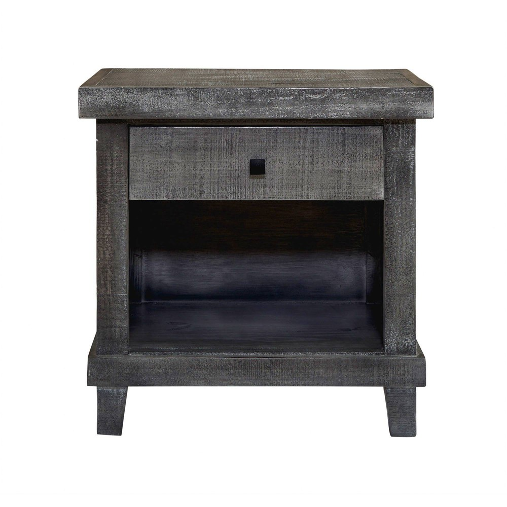 Image of 1 Drawer Donovan Nightstand Gray - Picket House Furnishings