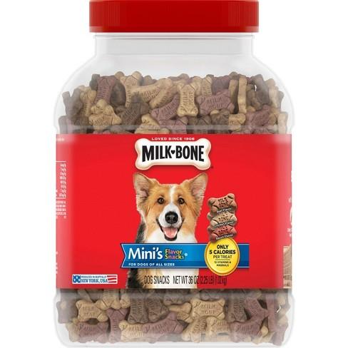 Milk-Bone Mini Biscuits Flavor Dry Dog Treats Can - 36oz - image 1 of 4