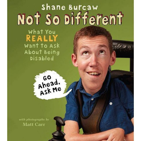 Not So Different - by  Shane Burcaw (Hardcover) - image 1 of 1