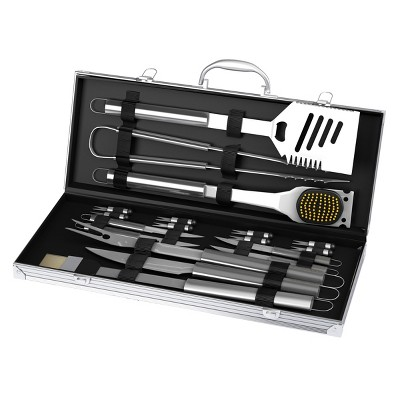 Hasting Home 19-Piece BBQ Grilling Utensil Set