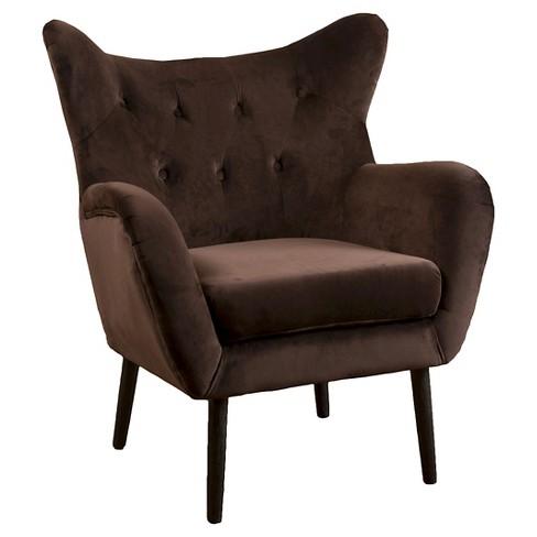 Alyssa New Velvet Arm Chair - Christopher Knight Home - image 1 of 4
