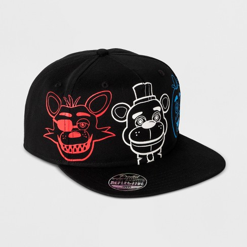Boys  Five Nights At Freddy s Baseball Hat - Black   Target d04a0b395c2