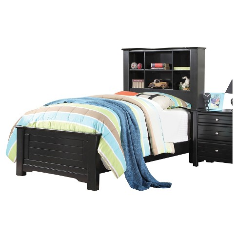 Full Mallowsea Kids Bed Black - Acme Furniture - image 1 of 2