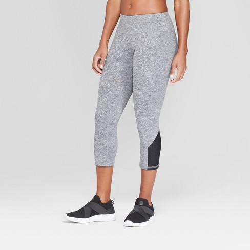 Women's Everyday Punchwork Mid-Rise Capri Leggings - C9 Champion® - image 1 of 3