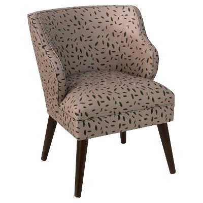 Logan Chair - Neo Leo Taupe - Skyline Furniture