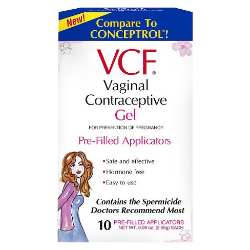 VCF® Contraceptive Gel Pre-Filled Applicators - 10ct - image 1 of 1