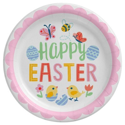 20ct Dinner Paper Plate Happy Easter - Spritz™
