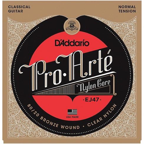 D'Addario EJ47 Pro-Arte 80/20 Bronze Normal Tension Classical Guitar Strings - image 1 of 4