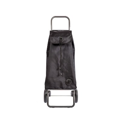 Rolser I-Max 2 Wheeled Foldable Storage Cart Black