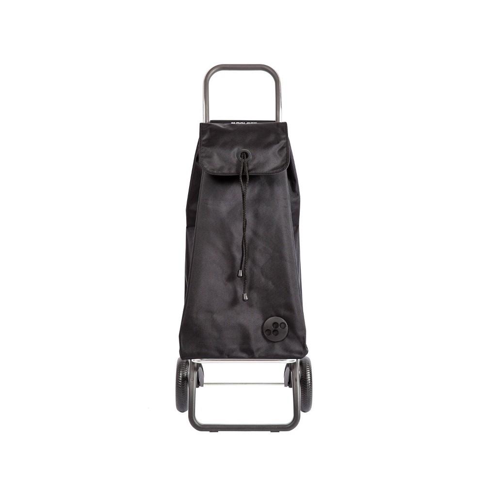 Rolser I Max 2 Wheeled Foldable Storage Cart Black