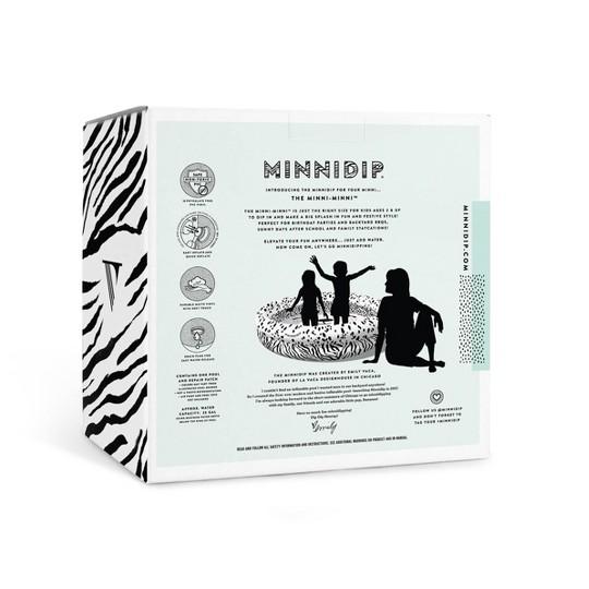 Minnidip Spotted Stripes Minni-Minni Kiddie Pool image number null