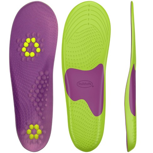 f1800c041016 Dr. Scholl s Athletic Series Fitness Walking Insoles Women Size 6-10 ...