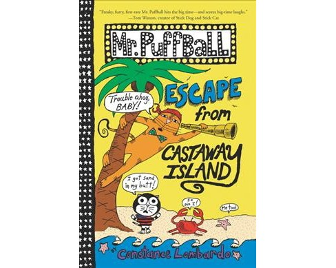 Escape from Castaway Island -  (Mr. Puffball) by Constance Lombardo (Hardcover) - image 1 of 1