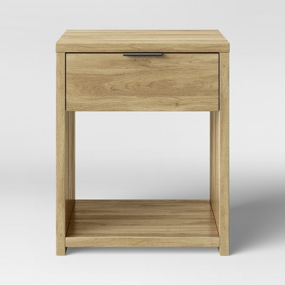 Accent Table with Drawer Natural - Made By Design™