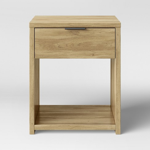 Accent Table With Drawer Natural - Made By Design™ - image 1 of 4