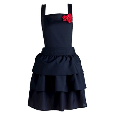 Ruffles & Red Roses Vintage Apron - Design Imports