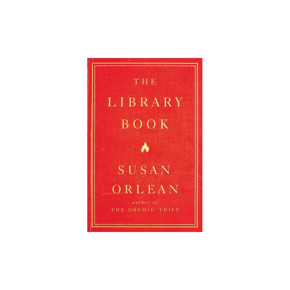 Library Book - by Susan Orlean (Hardcover)