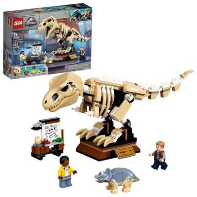 LEGO Jurassic World T. rex Dinosaur Fossil Exhibition 76940 Building Kit