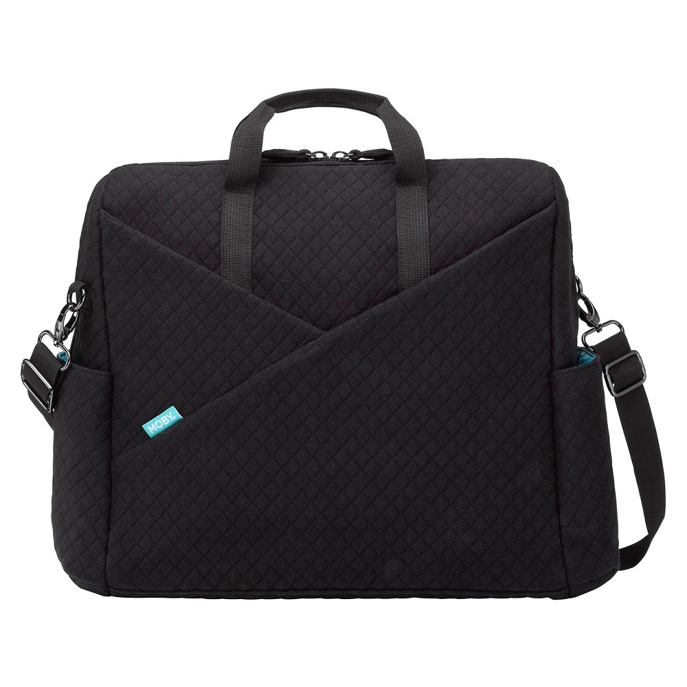 Image of Moby Diaper Bag - Black, Diaper Bag