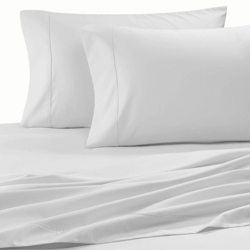 300 Thread Count Organic Cotton Brushed Percale Pillowcase Set - Purity Home - image 1 of 3