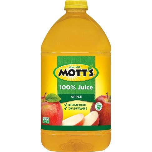 Mott's 100% Original Apple Juice - 1 gal Bottle - image 1 of 2