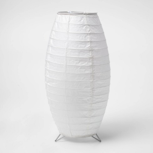 Paper Table Lamp White (Includes Energy Efficient Light Bulb) - Room Essentials™ - image 1 of 3