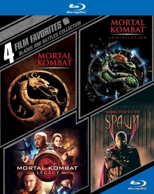 Blades and Battles Collection: 4 Film Favorites (Blu-ray)