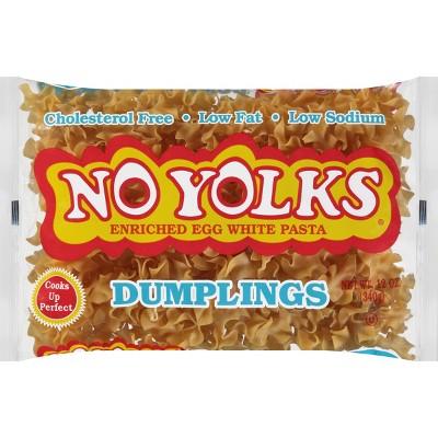 No Yolks Pasta Dumplings - 12oz