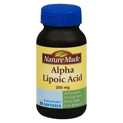 Vitamins & Supplements: Nature Made Alpha Lipoic Acid