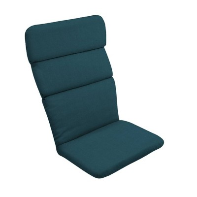 Atlantis Woven Outdoor Adirondack Chair Cushion Blue - Arden Selections