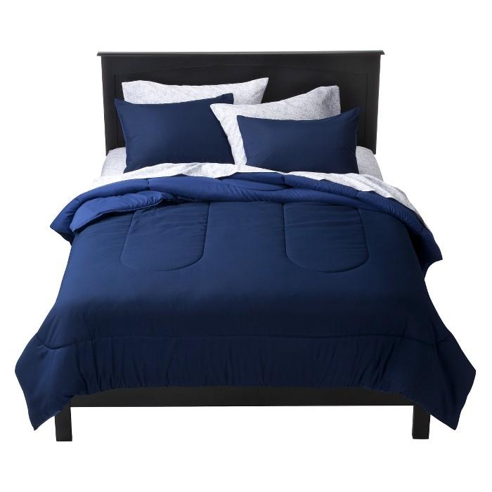 Reversible Microfiber Comforter - Room Essentials™ - image 1 of 4