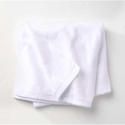 Organic Bath Sheet White - Casaluna™