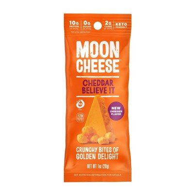 Moon Cheese Cheddar Cheese Snack - 1oz