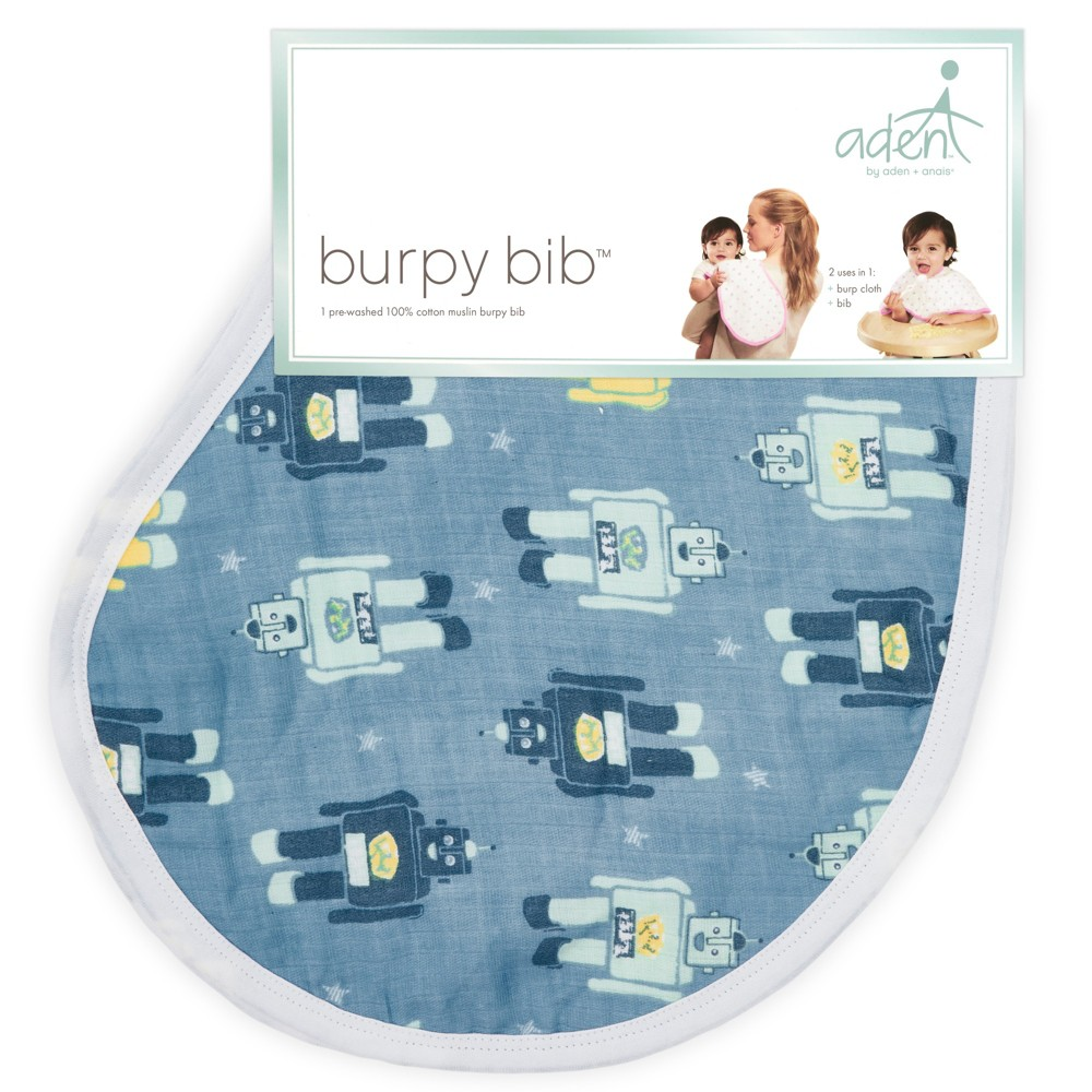 Image of aden by aden + anais Bib Set - Blue