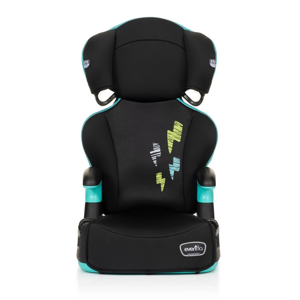 Evenflo Big Kid Booster Seat, Black