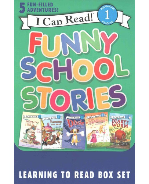 Funny School Stories (Paperback) (Jane O'Connor & Syd Hoff & Victoria Kann & Grace Gilman) - image 1 of 1