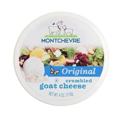 Montchevre Crumbled Goat Cheese - 4oz