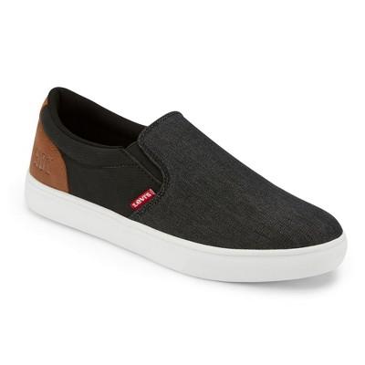 Levi's Mens Jeffrey 501 Slip-on Denim Casual Sneaker