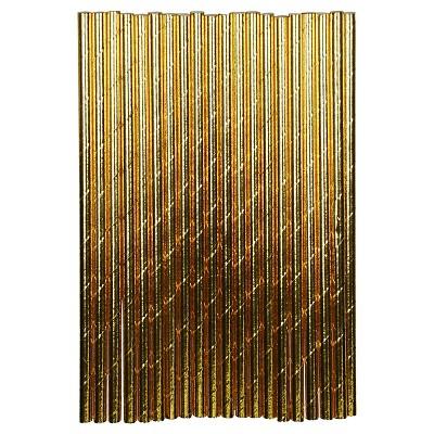 20ct Gold Paper Straw - Spritz™
