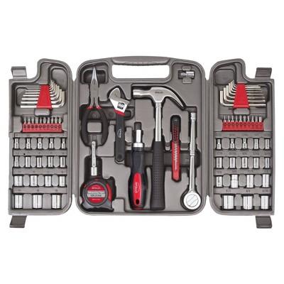 Apollo Tools 79pc Multi Purpose Tool Kit DT9411 Red